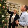 Ornamental flair produces lasting holiday tribute