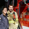 Firefighting couple finds fulfillment – and romance