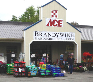 Brandywine Ace Pet and Farm has all-new look, inside and out, but features the same great service that has made the store a staple in the area for than 150 years. Saturday, they celebrate their grand reopening, 9 a.m. to 4 p.m.