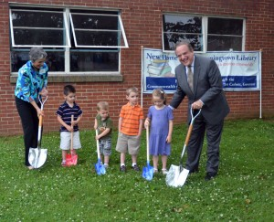 DowningtownLibraryGroundbreak