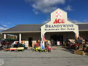 Brandywine Ace Pet & Farm in Pocopson.
