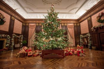 A Longwood Christmas begins Nov. 24.