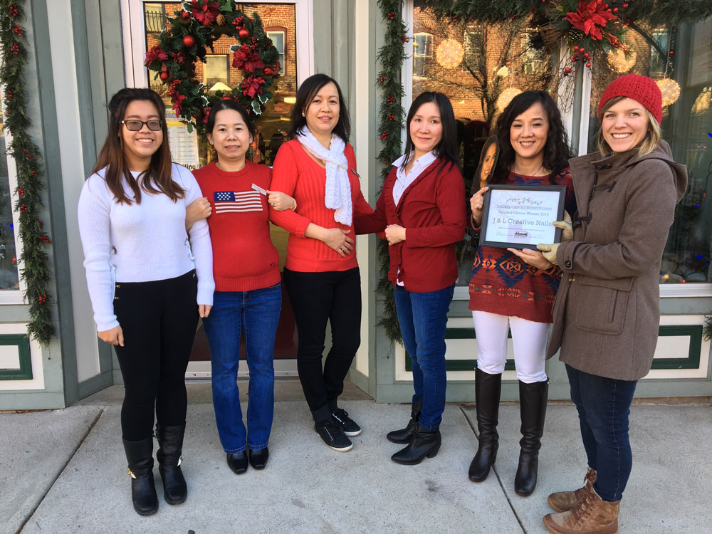 Decked out downingtown winners celebrated for 30 east salon downingtown