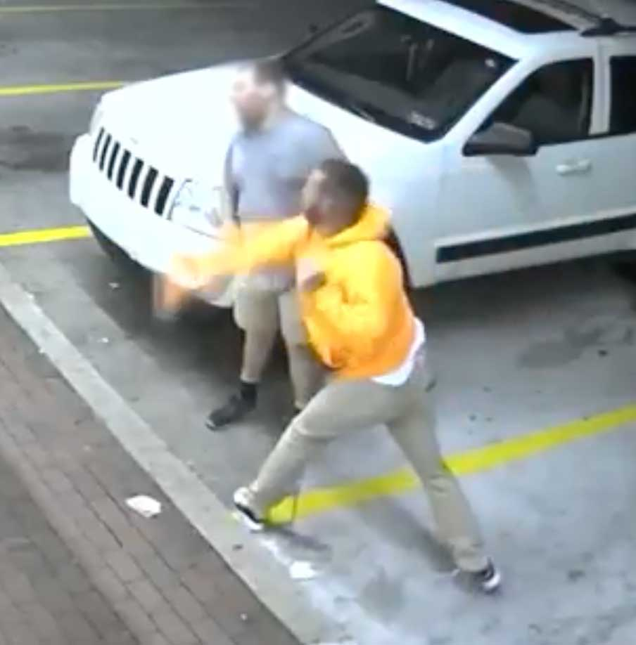 Caught on camera: Man mocks and punches male with cerebral palsy