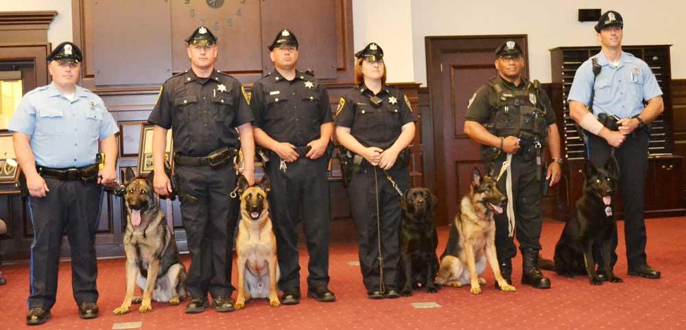 Chesco Sheriff mantiene la Unidad K-9 de graduación   chescotimes.com - Los Tiempos del Condado de Chester 1