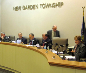 Members of the New Garden Board of Supervisors learned Monday that a proposed deal to build a new hanger at New Garden Flying Field collapsed, leaving the board to look into new options for building the facility.