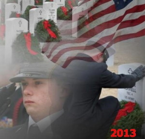 On Saturday, Dec. 14, wreaths will be placed on veterans' graves in more than 850 communities across the country as part of the Wreaths Across America project. In Chester County, a ceremony will be held at Oxford Cemetery.