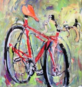 Bike ii by John Suplee