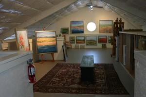 Carol Lesher new studio