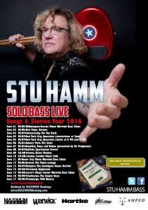 Stu Hamm 2016 tour poster med res