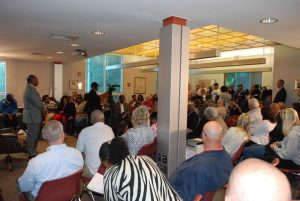 Over 150 Coatesville residents including parents, teachers, school board members and district administrators attended